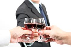Stock Photo of business celebration