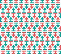 Stock Illustration of arrows pattern