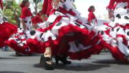 Stock Video Footage of Flamenco Troupe