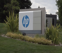 Hewlett Packard Headquarters Stock Footage Stock Footage