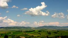S Quirico timelapse Stock Footage