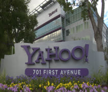 Yahoo Headquarters Stock Footage Stock Footage