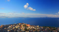 Naples and sea view time-lapse. Footage