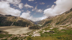 Time lapse mountains Stock Footage