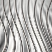 Aluminum silver stripe pattern Stock Illustration