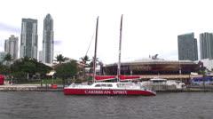 Sailboats, Sailing, Yachts, Wind Power Stock Footage
