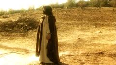 Jesus standing Stock Footage