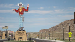 Wendover Will, Wendover Nevada Stock Footage