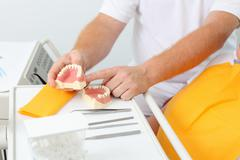 Dental technician Stock Photos