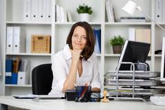 Stock Photo of female secretary