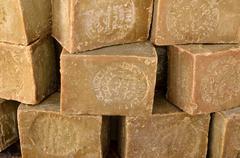 Bars of soap Stock Photos
