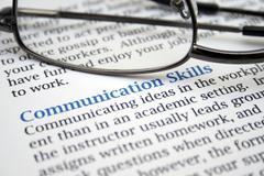 Communication skills Stock Photos