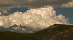 Stock Video Footage of Churning Clouds