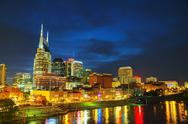 Stock Photo of downtown nashville, tn