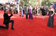 thomas jane and patricia arquette.61st primetime emmy awards held at the noki - stock photo