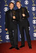Jerry bruckheimer & phil keoghan.61st primetime emmy awards held at the nokia Stock Photos
