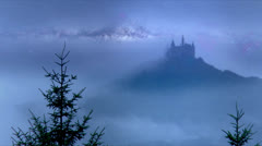 Castle Hohenzollern 1 - stock footage