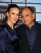 "Stock Photo of cheech marin and wife natasha rubin.""up in the air"" los angeles premiere.held"