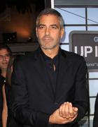 "George clooney.""up in the air"" los angeles premiere.held at mann village thea Stock Photos"