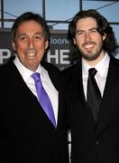 """Stock Photo of ivan reitman and jason reitman.""""up in the air"""" los angeles premiere.held at m"""