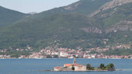 "Stock Video Footage of view of the Bay of Kotor (""Boka Kotorska""), Montenegro"