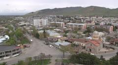 Gori city in Georgia Stock Footage