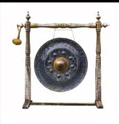 traditional thai gong - stock photo