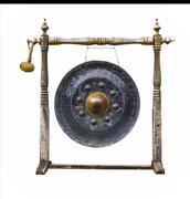 Perinteistä thaimaalaista gong Kuvituskuvat