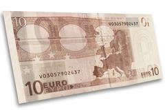 Euro bank note Stock Photos