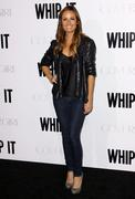 """whip it"" los angeles premiere - stock photo"