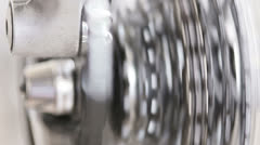 Spinning gears - stock footage