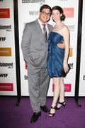 rich sommer and wife virginia donohoe.entertainment weekly and women in film  - stock photo