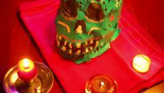 MEXICO Dia de Muertos Stock Footage