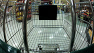 Stock Video Footage of Shopping Cart GOpro