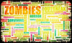 Stock Illustration of zombies