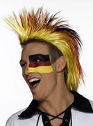 Stock Photo of Male german soccer fan