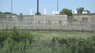 Stock Video Footage of Texas prison medium shot