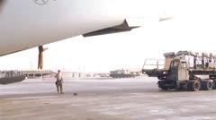 Cargo Loading 01 Stock Footage