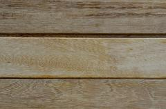 teak planks - stock photo