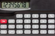Stock Photo of .digital keypad background