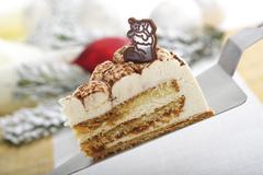 Cappuccino torte Stock Photos