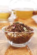 Rooibos tea with cardamom, close-up Stock Photos