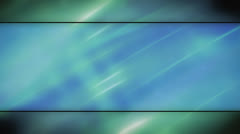Blue green soft flowing abstract looping animated background Stock Footage