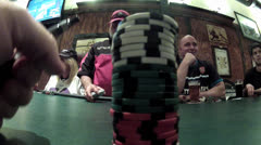 Poker hand 1 Stock Footage