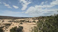 Utah Natural Bridges National Monument time lapse Stock Footage