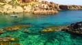 Peaceful picturesque seascape, La Manga, Spain. HD Footage