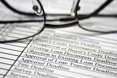 loan form - stock photo