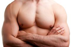 Male torso Stock Photos