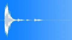 glass bottle hit 002 - sound effect