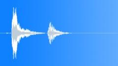 glass bottle hit 003 - sound effect